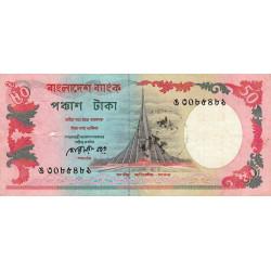 Bangladesh - Pick 28a2 - 50 taka - 1990 - Etat : TB