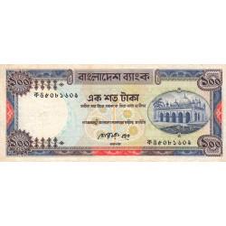 Bangladesh - Pick 31a2 - 100 taka - 1990 - Etat : B+