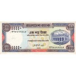 Bangladesh - Pick 31a2 - 100 taka - 1990 - Etat : TB-