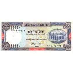 Bangladesh - Pick 31a2 - 100 taka - 1990 - Etat : TB