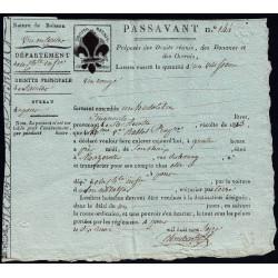 Charente-Maritime - Saintes - Louis XVIII - 1816 - Passavant - Etat : SUP