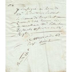 Seine - Paris - Consulat - 1803 - 63ème Régiment d'Infanterie - 240 livres - Etat : TTB+