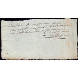 Seine - Paris - 1er empire - 1805 - Reçu Lycée Impérial - 24 livres - Etat : SUP