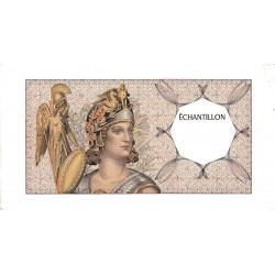 Athena à gauche - Format 200 francs MONTESQUIEU - DIS-03-A-03 - Etat : TTB