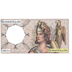 Athena à droite - Format 50 francs QUENTIN DE LA TOUR - DIS-04-A-02 - Etat : TTB-