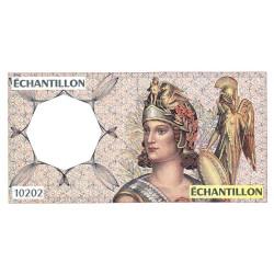 Athena à droite - Format 200 francs MONTESQUIEU - DIS-04-A-04 - Etat : SPL