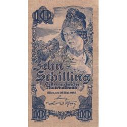 Autriche - Pick 114_1- 10 shilling - 29/05/1945 - Etat : SUP+