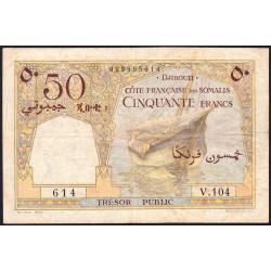 Djibouti - Pick 25 - 50 francs - 1952 - Etat : TB+