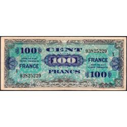 VF 25-11 - 100 francs série X - France - 1944 (1945) - Etat : TTB