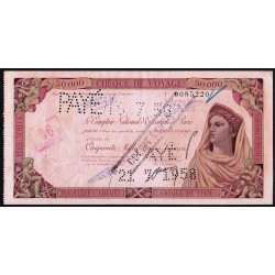 Maroc - Khouribga - 50'000 francs - 24/06/1958 - Etat : TTB+