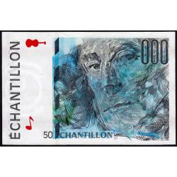 Ravel - Format 50 francs ST-EXUPERY - DIS-05-A-01 - Etat : SUP