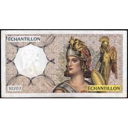 Athena à droite - Format 200 francs MONTESQUIEU - DIS-04-A-04 - Etat : TTB