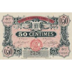 Angoulême - Pirot 9-33 - 50 centimes - 5ème série - 11/04/1917 - Etat : TTB