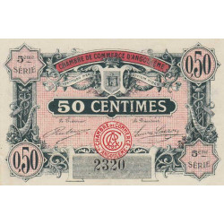 Angoulême - Pirot 9-33a - 50 centimes - 1917 - Etat : TTB
