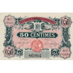 Angoulême - Pirot 9-33b - 50 centimes - 1917 - Etat : SPL