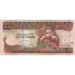 Ethiopie - Pick 48c - 10 birr - 2003 - Etat : NEUF