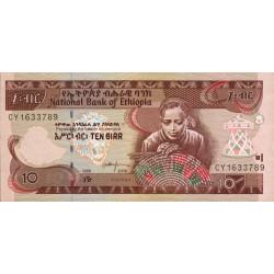 Ethiopie - Pick 48d - 10 birr - Série CY - 2006 - Etat : NEUF