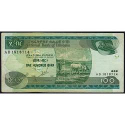 Ethiopie - Pick 50a - 100 birr - Série AD - 1997 - Etat : TTB