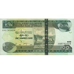 Ethiopie - Pick 52c - 100 birr - Série AN - 2006 - Etat : SPL