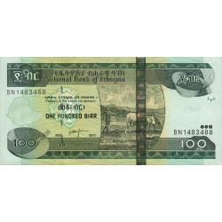 Ethiopie - Pick 52e - 100 birr - 2011 - Etat : SPL