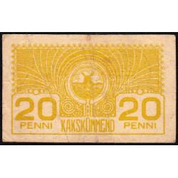 Estonie - Pick 41 - 20 penni - 1920 - Etat : TB+