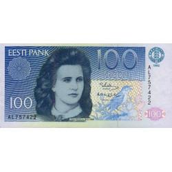 Estonie - Pick 74b - 100 krooni - 1992 - Etat : SUP