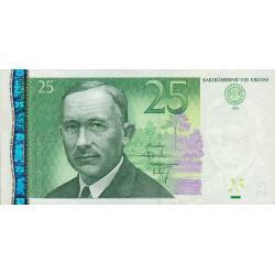 Estonie - Pick 84 - 25 krooni - 2002 - Etat : SUP