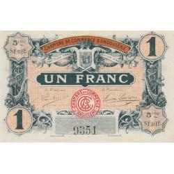 Angoulême - Pirot 9-36a - 1 franc - 1917 - Etat : SPL