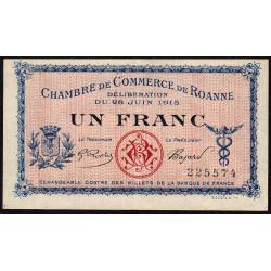 Roanne - Pirot 106-02a - 1 franc - Etat : SUP