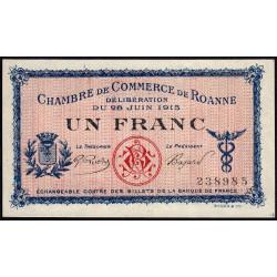 Roanne - Pirot 106-02a - 1 franc - Etat : pr.NEUF