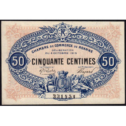 Roanne - Pirot 106-07 - 50 centimes - Etat : pr.NEUF