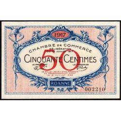 Roanne - Pirot 106-09 - 50 centimes - Etat : NEUF
