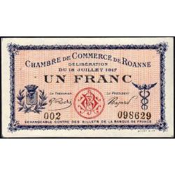Roanne - Pirot 106-12 - 1 franc - Etat : SPL+