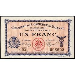 Roanne - Pirot 106-12 - 1 franc - Etat : NEUF