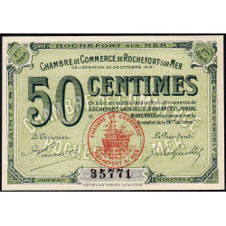 Rochefort-sur-Mer - Pirot 107-1 - 50 centimes - 1ère Série - 28/10/1915 - Etat : SPL