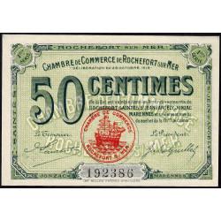 Rochefort-sur-Mer - Pirot 107-1 - 50 centimes - 1ère Série - 28/10/1915 - Etat : pr.NEUF