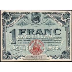 Rochefort-sur-Mer - Pirot 107-4 - 1 franc - 1ère Série - 28/10/1915 - Etat : SPL