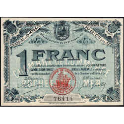 Rochefort-sur-Mer - Pirot 4 - 1 franc - 1ère Série - Etat : SPL