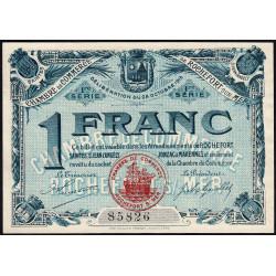 Rochefort-sur-Mer - Pirot 107-4 - 1 franc - 1ère Série - 28/10/1915 - Etat : pr.NEUF
