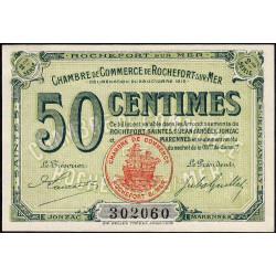 Rochefort-sur-Mer - Pirot 107-7 - 50 centimes - 2me Série - 28/10/1915 - Etat : pr.NEUF