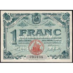 Rochefort-sur-Mer - Pirot 107-9 - 1 franc - 2me Série - 28/10/1915 - Etat : pr.NEUF