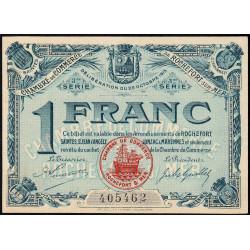 Rochefort-sur-Mer - Pirot 107-13 - 1 franc - 3me Série - 28/10/1915 - Etat : SPL