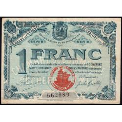 Rochefort-sur-Mer - Pirot 13 - 1 franc - 3me Série - Etat : TTB