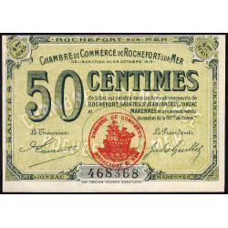 Rochefort-sur-Mer - Pirot 107-15 - 50 centimes - 4me Série - 28/10/1915 - Etat : NEUF