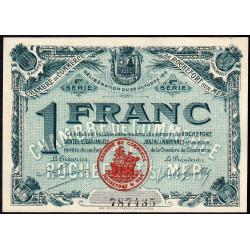 Rochefort-sur-Mer - Pirot 107-16 - 1 franc - 4me Série - 28/10/1915 - Etat : NEUF