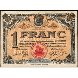 Rochefort-sur-Mer - Pirot 107-19 - 1 franc - 5me Série - 25/02/1920 - Etat : TB+