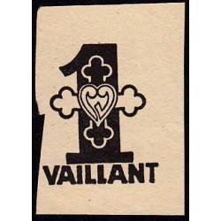 Billet de 1 vaillant - 1ère série /A - 1935-1945 - Etat : TTB