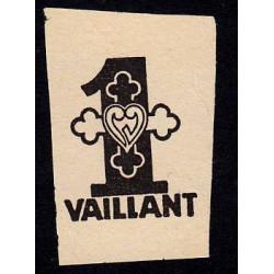 Billet de 1 vaillant - 1ère série /A - 1935-1945 - Etat : TTB+