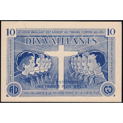 Billet de 10 vaillants - 1ère série /C - 1935-1945 - Etat : pr.NEUF