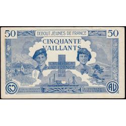 Billet de 50 vaillants - 1ère série /C - 1935-1945 - Etat : TTB